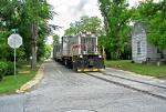 Sandersville 1500 running down Tybee Street