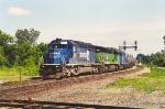 Southbound unit sulfur train
