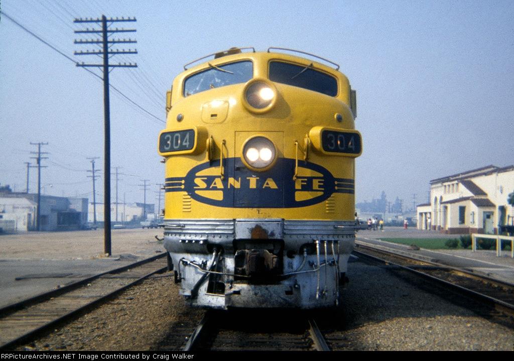 ATSF 304L - Fullerton, CA - 9/30/72