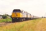 Westbound Corridor train