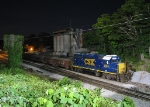 CSX Y111 tied up for the night