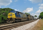 CSX Q675 passing the North end of Fowler Junction