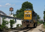 CSX 2565 heading back to the depot