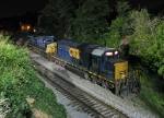 CSX 8158 and 136 tied up in Athens