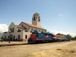 Train at the depot