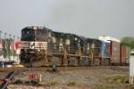 NS 9057 heads for Toledo