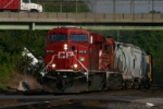 CP 8838 is eastbound