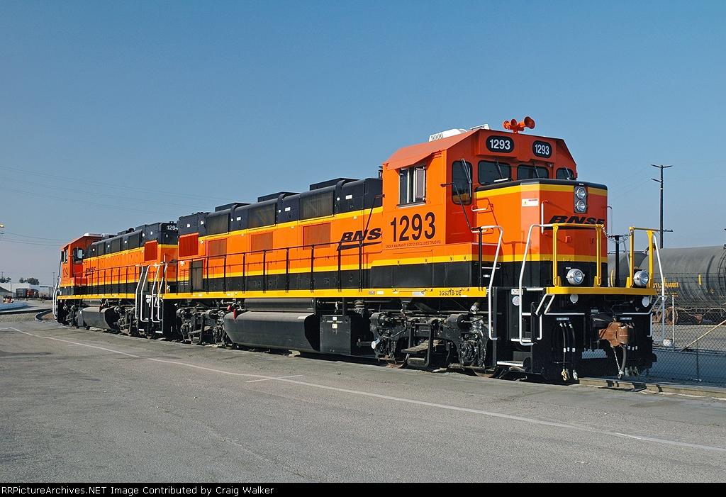 BNSF 1293 - Watson, CA