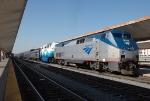 Amtrak P42 153 and SDRX 906 on the Coast Starlight
