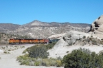 BNSF 5200 - Mormon Rocks, Cajon Pass, CA - 11/13/10