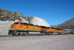 BNSF 5200 - Swarthout Road, Cajon Pass, CA - 11/13/10