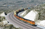 BNSF 6387 - Summit, Cajon Pass, CA - 11/6/10