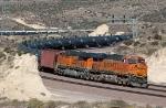 BNSF 7381 - Silverwood, Cajon Pass, CA - 11/13/10