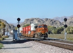 BNSF 7463 - Victorville (Frost), CA - 11/6/10