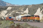 BNSF 7680 - mp 58, Cajon Pass, CA - 11/13/10
