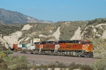 BNSF 7850 - mp 58, Cajon Pass, CA - 11/6/10