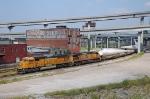 BNSF 8805 - Kansas City, MO - 9/18/10