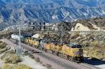 UP 5254 - Cajon Pass, CA - 11/13/10