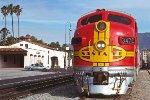 ATSF 347C - Pasadena, CA - 2/7/89