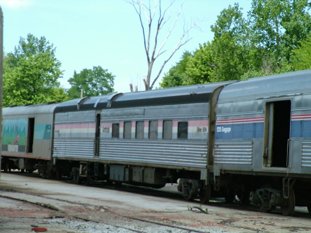 Diner 8514 & Vermonter Baggage Car 1800