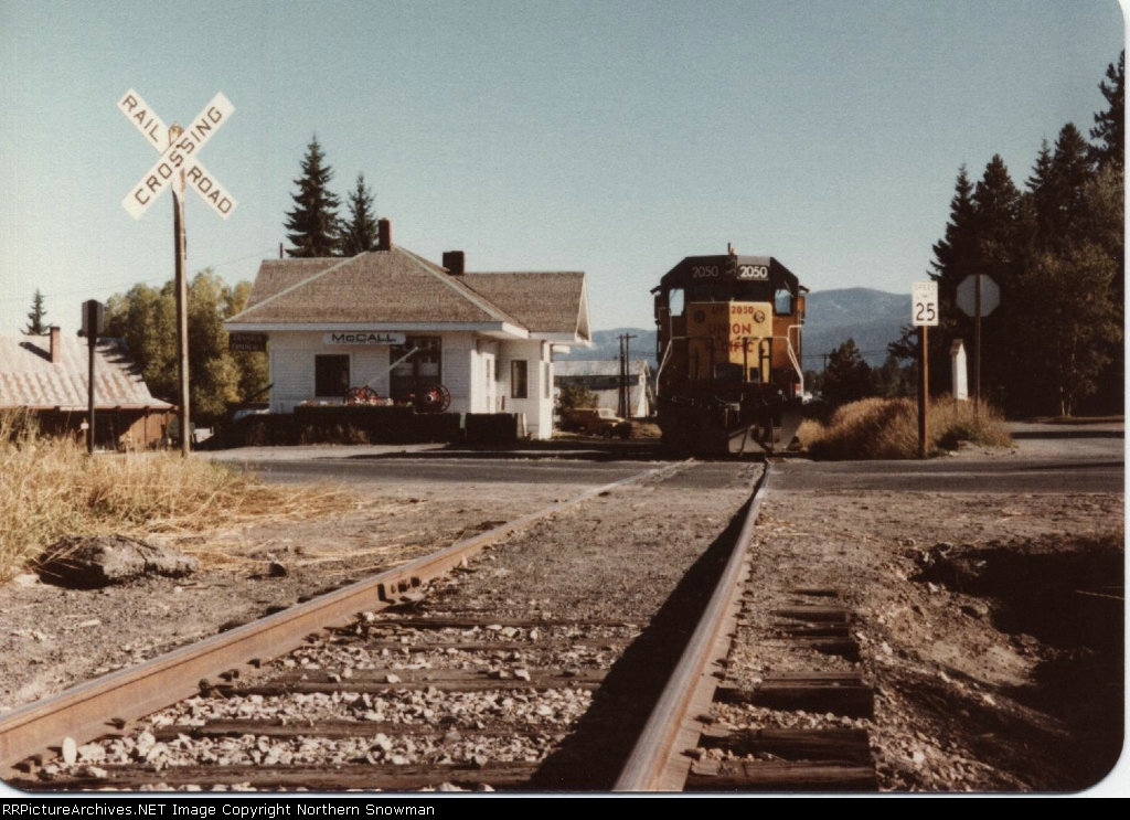 Last Train out of McCall