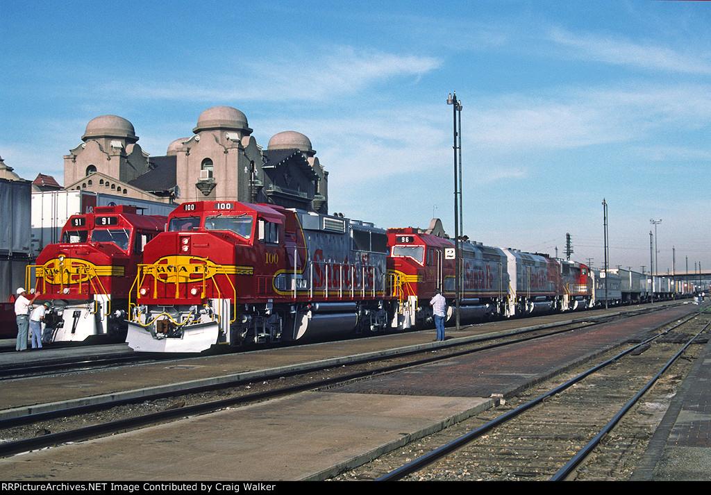ATSF 100 - San Bernardino, CA - 5/23/90