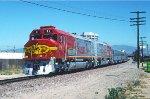 ATSF 91 - Anaheim, CA - 5/22/90