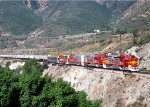 ATSF 100 - Blue Cut, Cajon Pass, CA - 5/23/90