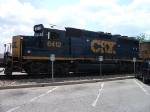CSX GP40-2 on Ribbon Rail Train