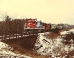 Santa train arrives