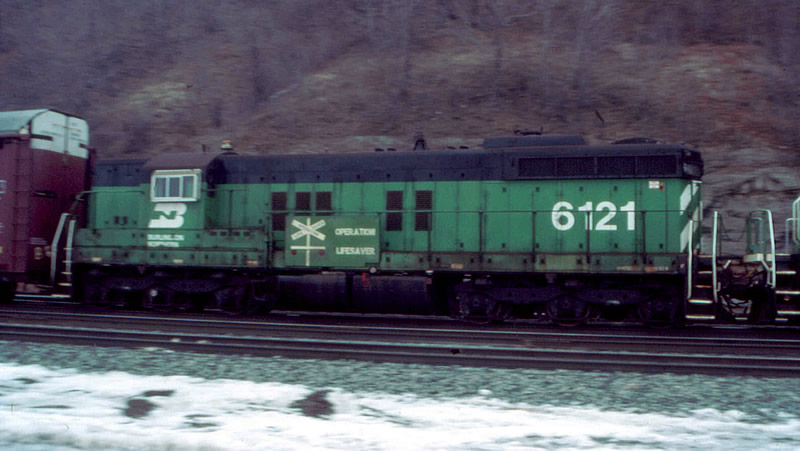 BN 6121 passes w/ operation lifesaver thing