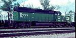 BN 6777 in coal service