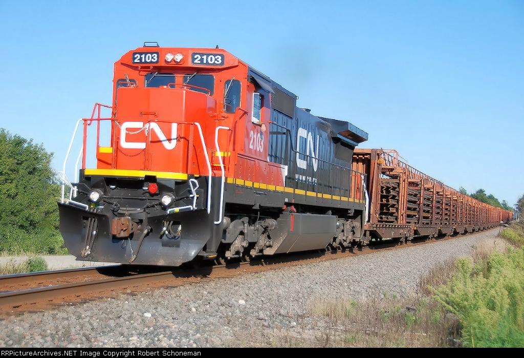 CN's new Ex CNW's