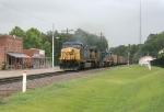 SB empty coal train heading north!!
