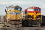 UP 4949 and KCS 4707