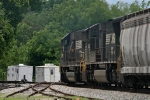 NS 2603 passes stored NS's M of W crew units