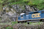 CSX 4422 out of Catoctin Tunnel