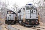NJT Locomotives on the M&E