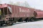 Santa FE (ATSF 312400) half Side of AT&SF 314975