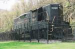 Pennsylvania Railroad Engine Number 7048