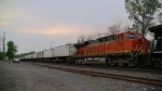 BNSF 7366 at South Plainfield NJ