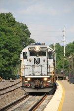 Westbound Montclair-Boonton Line Train