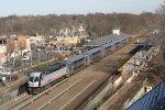 Westbound Raritan Valley Line Train