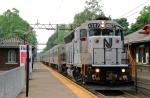 Weekend Westbound Diesel Propulsion on the Morristown Line