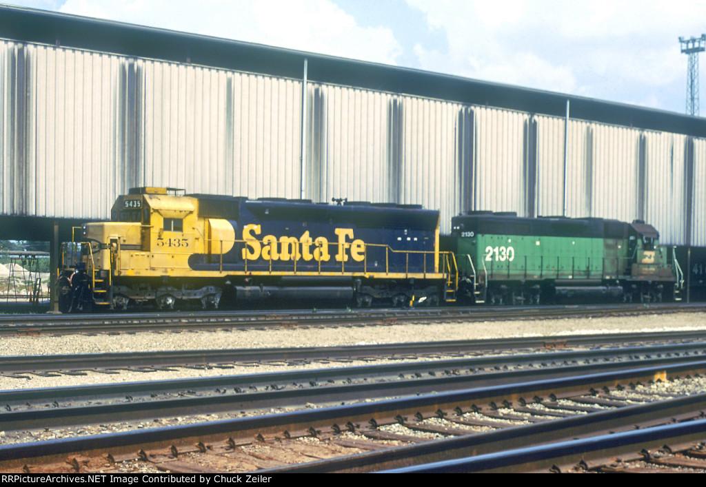 AT&SF SD45u 5435