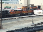 BNSF 5497 and 4316