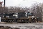 NS 9132 leads coal train