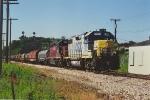 Northbound coil train