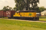Eastbound transfer heads to CP yard