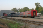 High Iron excursion train overnighting at AGR